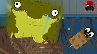 늪지대 패왕 악어 등장!! 딥이오 대규모 늪지대 업데이트! │물고기 진화시키기 - Deeeep.io - #12
