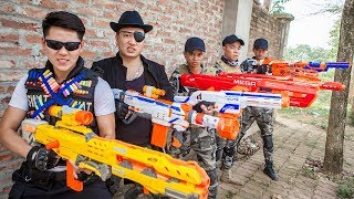 LTT Nerf War : Captain SEAL X Warriors Nerf Guns Fight Criminal Group Dr Lee Last Match
