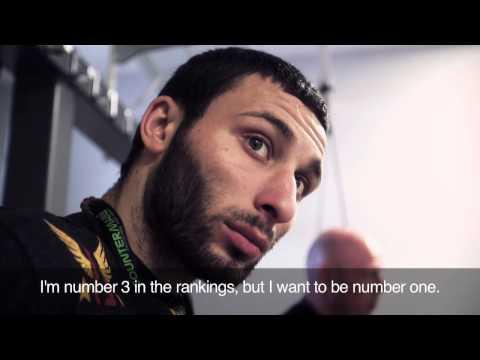 GLORY 12 New York - Davit Kiria Pre Fight Interview