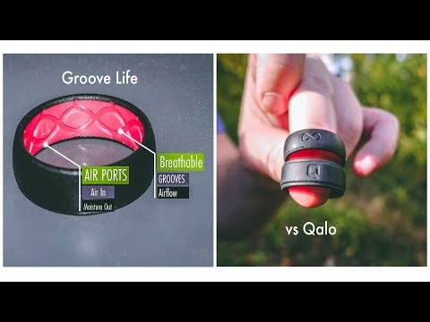 GROOVE LIFE Vs. QALO Silicone Rings / Honest Review Of Drying & Breathability, Fit, Comfort & Styles