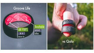 GROOVE LIFE vs. QALO Silicone Rings