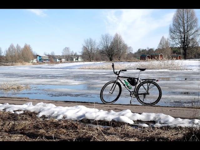 """Песня-аллегория: """"ПЕРЕВАЛ"""".  Леонид Утесов. Автор клипа не понял смысла и нарисовал велосипед."""