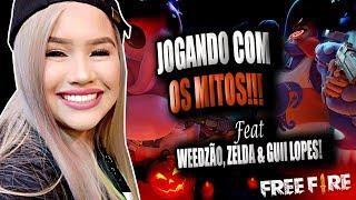 SÓ #MITAGENS NA LIVE! #FREE FIRE - feat WEEDZÃO, ZELDA E GUI LOPES