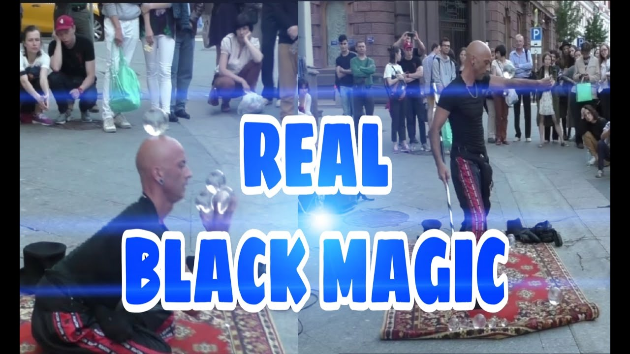 Pertunjukan Yang sempurnah ! ! REAL BLACK MAGIC