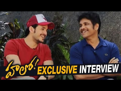 Nagarjuna and Akhil Exclusive Interview about Hello Movie
