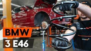 BMW 3 SERIES Etujouset ja takajouset asentaa : videokäsikirjat