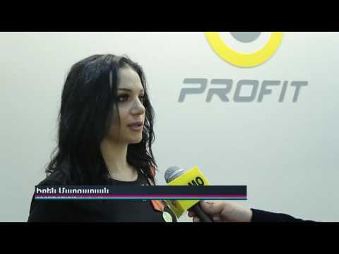 Երկրորդ Lady Space Fitness & Spa-յի և Profit Armenia-յի բացման շնորհանդեսը