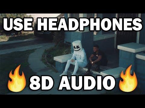Marshmello x Roddy Ricch - Project Dreams (8D MUSIC)