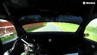 Onboard: First Shakedown of the new ŠKODA Fabia R5