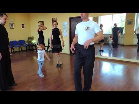 19 июня.  Урок Аргентинского Танго у Юрия и Ольги.
