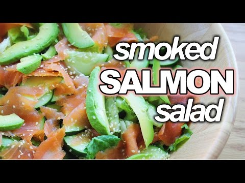 Smoked Salmon Salad || Recipe