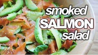 Smoked Salmon Salad || Recipe