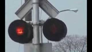 Vinewood Ave. Railroad Crossing Malfunction, 4/23/08