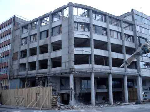 MTKA DEMOLITION - ZIRAAT BANK - 2.400m2, 6 Floors, 6 Days