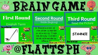 Brain Game  English Terms  Riddles  Read the Picture  30 Items