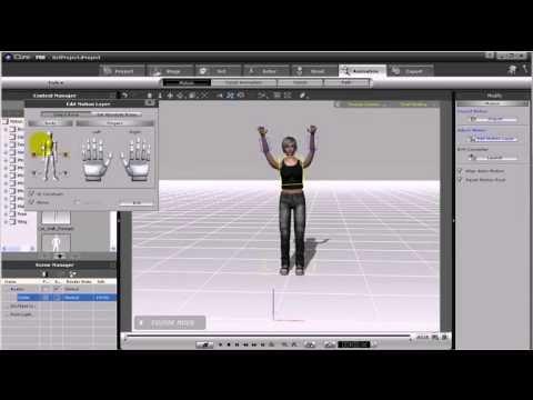 Iclone 5 Pro Tutorial Deutsch kleine Szene erstellen Physik Animation für Anfänger.   FunnyDog.TV