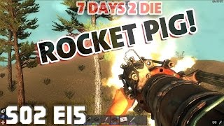 7 Days Mindcrack S02 E15 Rocket Pig