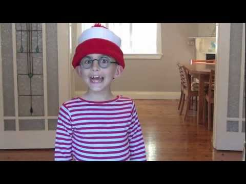 How To Make A Where S Wally Dress Up Youtube