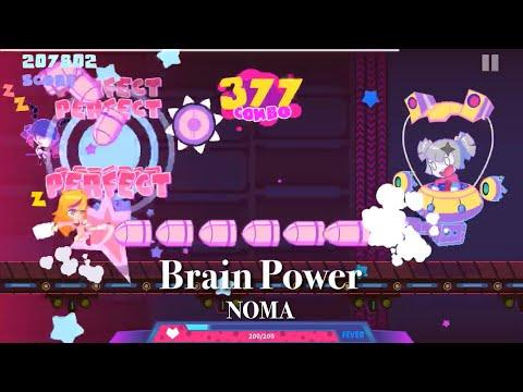 【Muse Dash】Brain Power - NOMA [達人★10] 夢遊少女(Sleepy girl)