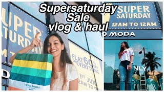 First Shopper at Only, Vero Moda, Jack and Jones Super Saturday sale 2019 vlog & try on haul