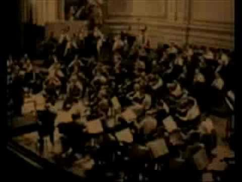 HOROWITZ, TOSCANINI & BRAHMS in NEW YORK #4.wmv