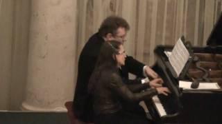 Schubert Divertissement a la Hongroise D 818  The Schubert Duo (Live in St.Petersburg 04.12.2011)
