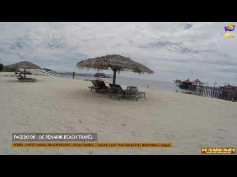Scuba Junkie | Mabul Beach Resort | Pulau Mabul | Sabah Go Pro 4K