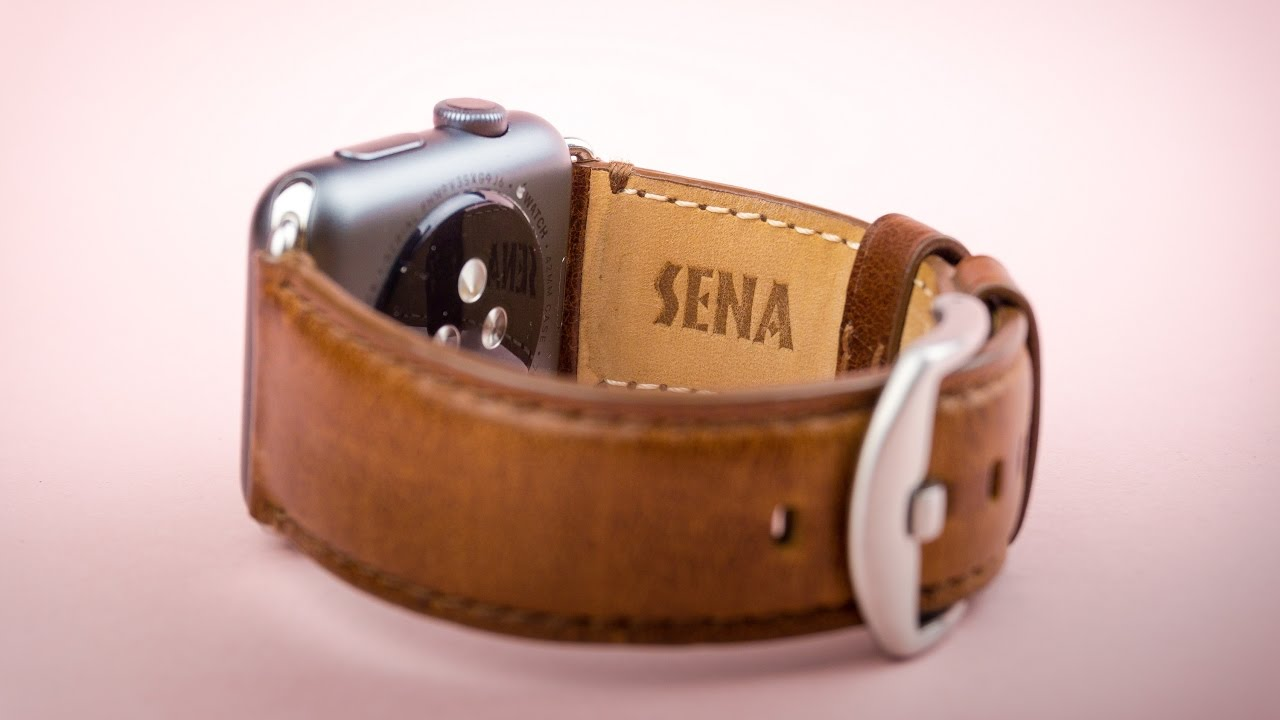 designer fashion ac1e1 0f7c3 Sena Heritage Leather Strap for Apple Watch - Review