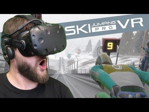 Symulator SKOKÓW NARCIARSKICH Na VR *PRO* - Ski Jumping Pro VR (HTC VIVE VR)