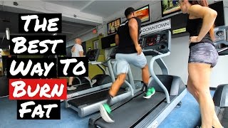 Best Way to burn fat - HIIT Training -Treadmill sprints - Fat loss tips