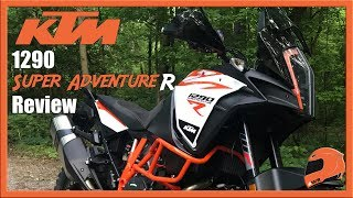 KTM 1290 Super Adventure R & KTM My Ride App Review