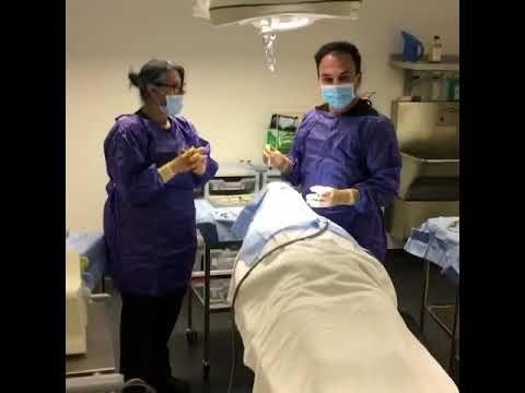 Dental implant surgery @ smile implant clinics theatre suite