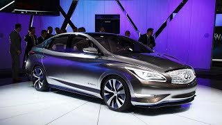 The Electric Luxurious Leaf-Based Sedan - Tesla-Fighting : Infiniti LE concept