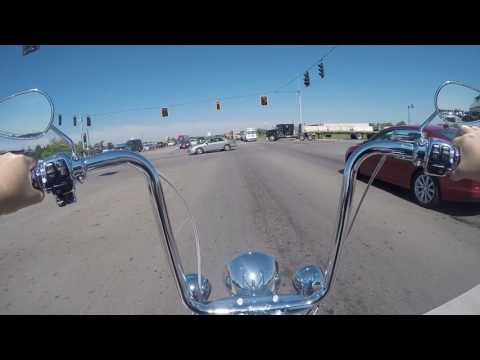 "16"" Ape Hangers review on 2016 Heritage Softail"