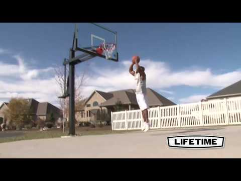 Lifetime 48'' Strong Arm Basketball System | Model 90585 | Features & Benefits