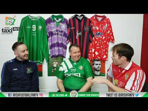Irish Football Fan TV | Vintage Jersey Show | Some Perfect Christmas Gifts |