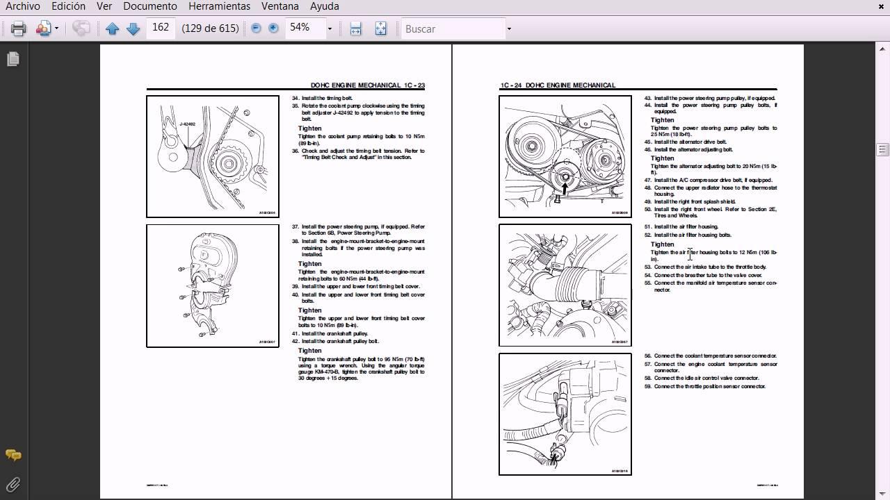 Motor Daewoo Lanos Mecanica Y Electricidad