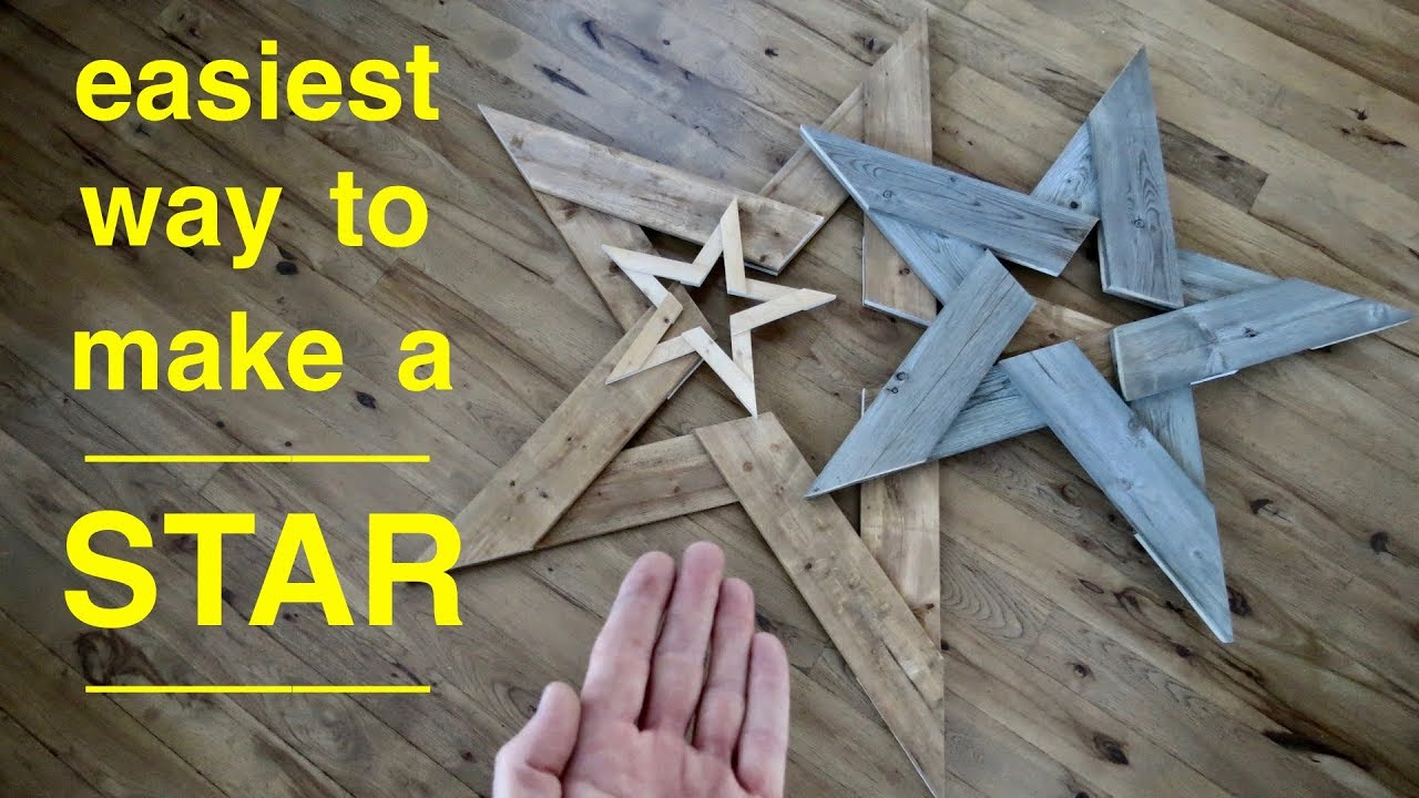easy way to make a star  [ 1280 x 720 Pixel ]