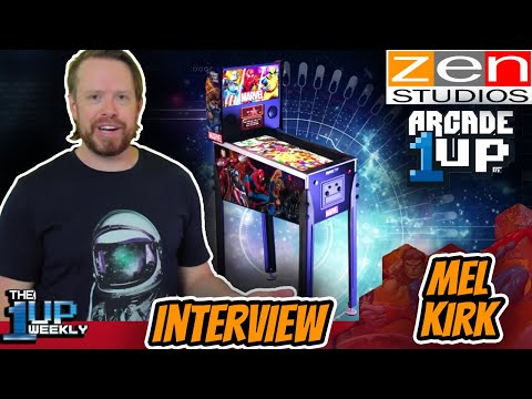 The 1up Weekly - Live with Mel Kirk from Zen Studios from The1upWeekly