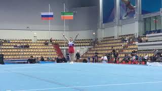 Аблязин Денис - вольные упражнения