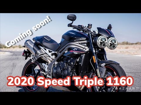 2020 Triumph Speed Triple 1160 Coming Soon