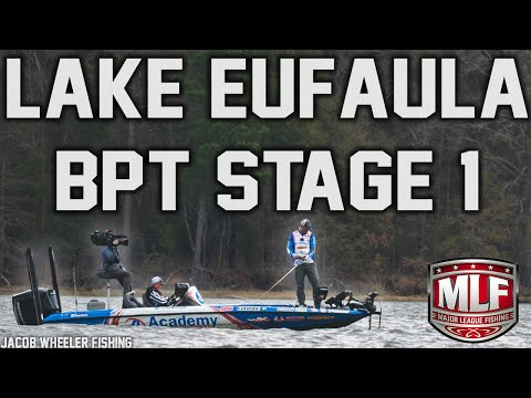 Major League Fishing BPT Stage 1 - Lake Eufaula 2020