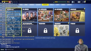 Fortnite Early Access - Episode 1 (Live Stream)