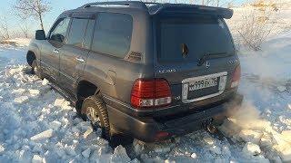 Жесть! Чуть не прибило в Lexus LX 470. Очень опасная покатушка!