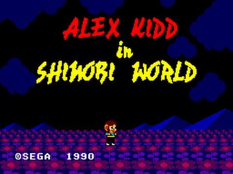 Master System Longplay [049] Alex Kidd in Shinobi World (a)