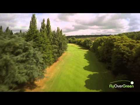 Racing Club De France – drone aerial video – La Vallée – Hole#08