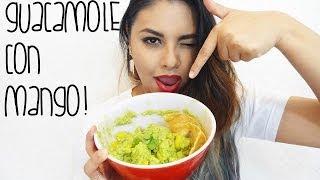 Guacamole Con Mango!!  (receta Saludable)