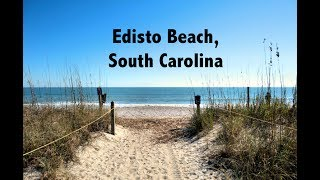 Day At Edisto Beach, South Carolina