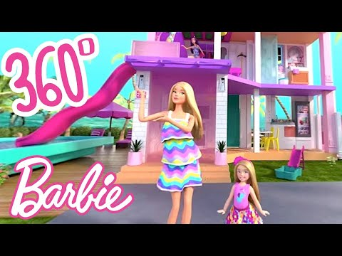 💖 BARBIE'S NEW DREAMHOUSE ✨ 360° VIRTUAL HOUSE TOUR! | #Dreamhouse REMIX | @Barbie