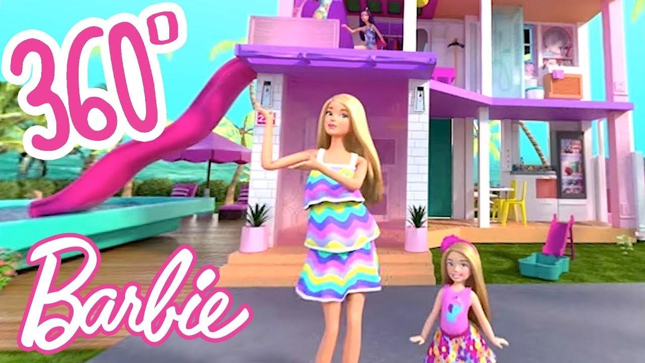 Download @Barbie | 💖 BARBIE'S NEW DREAMHOUSE ✨ 360° VIRTUAL HOUSE TOUR! | #Dreamhouse REMIX